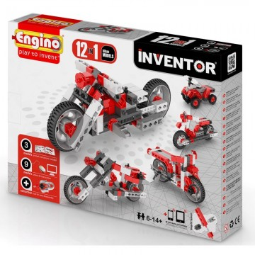 Engino Inventor Μοτοσυκλέτες 12 σε 1