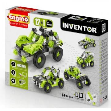 Engino Inventor Αυτοκίνητα 12 σε 1
