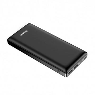 Baseus Mini JA Power Bank 30000 mAh USB / USB-C PD / micro USB / Lightning 3A black (PPJAN-C01)
