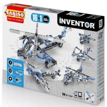 Engino Inventor Αεροπλάνα - Ελικόπτερα 16 σε 1