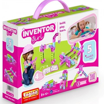 Engino Inventor Girl 5 σε 1