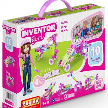 Engino Inventor Girl 10 σε 1