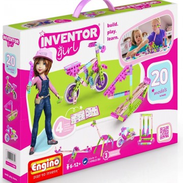 Engino Inventor Girl 20 σε 1