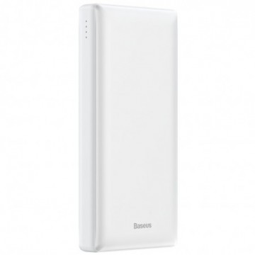 Baseus Mini JA Power Bank 20000 mAh USB / USB-C / micro USB 3A white (PPJAN-B02)
