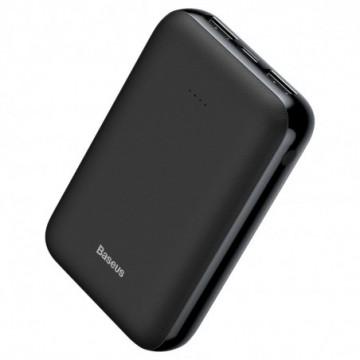 Baseus Mini JA Power Bank 10000 mAh USB / USB-C / micro USB 2.1A black (PPJAN-A01)