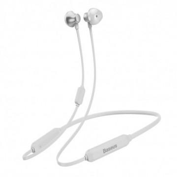 Baseus S11A Encok Necklace Wireless Earphone Bluetooth 4.2 White (NGS11A-02)