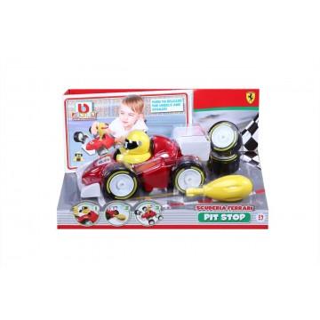 Bburago Junior Ferrari - F1 Pit Stop