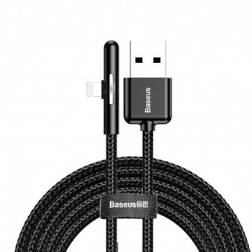 Baseus Mobile Game Elbow Cable USB Lightning 1.5A 2m black (CAL7C-B01)