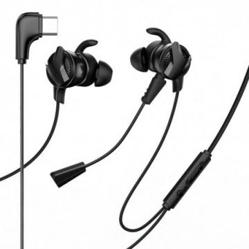 Baseus Gamo C15 In-Ear USB Type C Headphones Headset black (NGC15-01)
