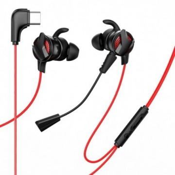 Baseus Gamo C15 In-Ear USB Type C Headphones Headset red (NGC15-91)