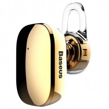 Baseus Encok A02 mini wireless earphone Bluetooth 4.1 gold (NGA02-0V)