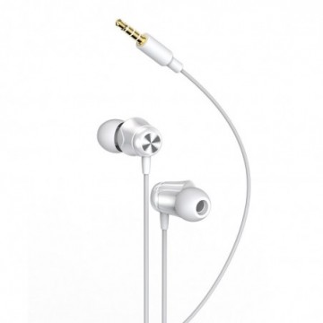Baseus Encok H13 in-ear earphone 3.5mm mini jack headset with remote control white (NGH13-02)