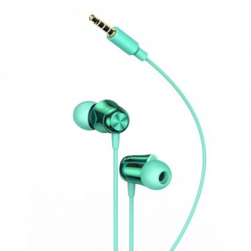 Baseus Encok H13 in-ear earphone 3.5mm mini jack headset with remote control green (NGH13-06)