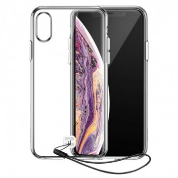 Baseus Transparent Key case cover for iPhone XS / X transparent (WIAPIPH58-QA02)