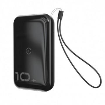 Baseus Mini S Bracket Power Bank 10000mAh 18W with Qi 10W black (PPXFF10W-01)