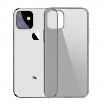 Baseus Simple Series Case Transparent for iPhone 11 black (5ARAPIPH61S-01)