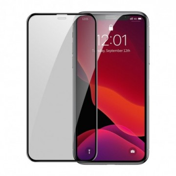 Baseus Full-screen Curved Privacy Tempered Glass for iP 6.5inch (2019) Black 2pcspack (SGAPIPH65S-WC01)
