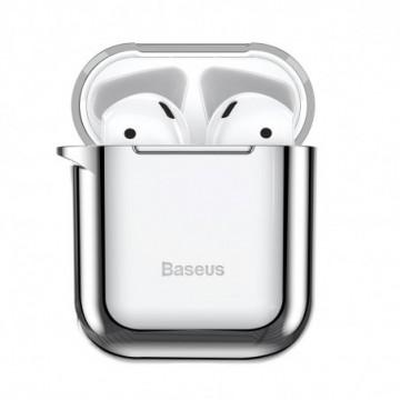 Baseus Shining hook Case Silica Protector for Airpods 1/2 silver (ARAPPOD-A0S)