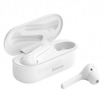 Baseus TWS Encok W07 waterproof mini wireless earphone Bluetooth 5.0 white (NGW07-02)