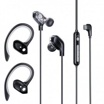 Baseus Gamo C18 In-Ear USB Type C Headphones Headset black (NGC18-01)