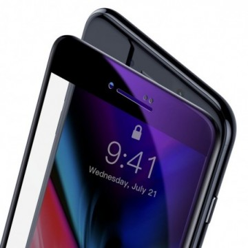 Baseus with crack-resistant edges and for iPhone 8 / iPhone 7 black (SGAPIPH8N-HPE01)
