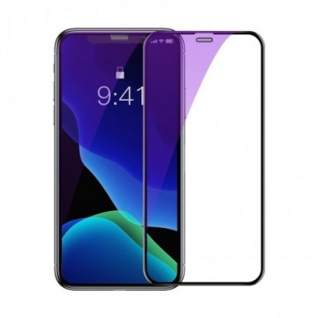 Baseus 2x full-screen curved tempered glass  for iPhone 11 Pro Max / iPhone XS Max black (SGAPIPH65-WE01)