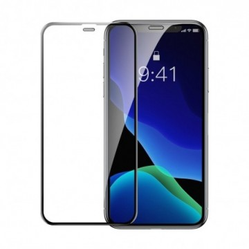 Baseus 2x full-screen curved tempered glass for iPhone 11 Pro Max / iPhone XS Max black (SGAPIPH65-WD01)