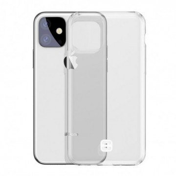 Baseus Ultra-Thin Cover TPU Case with Lanyard Holder for iPhone 11 transparent (WIAPIPH61S-QA02)
