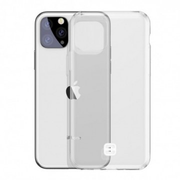 Baseus Ultra-Thin Cover TPU Case with Lanyard Holder for iPhone 11 Pro Max transparent (WIAPIPH65S-QA02)