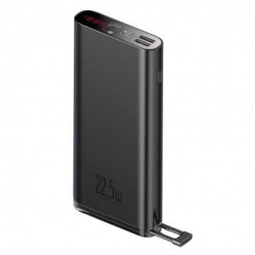 Baseus power bank 20000mAh 22,5W Quick Charge PD3.0 QC3.0 SCP FCP 2x USB + USB Type C black (PPXC-01)