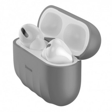 Baseus Shell Silica Case Protector for Apple Airpods Pro gray (WIAPPOD-BK0G)