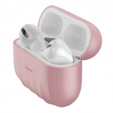 Baseus Shell Silica Case Protector for Apple Airpods Pro pink (WIAPPOD-BK04)