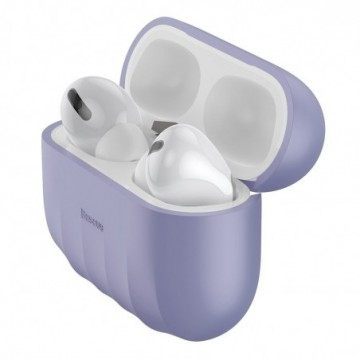 Baseus Shell Silica Case Protector for Apple Airpods Pro violet (WIAPPOD-BK05)
