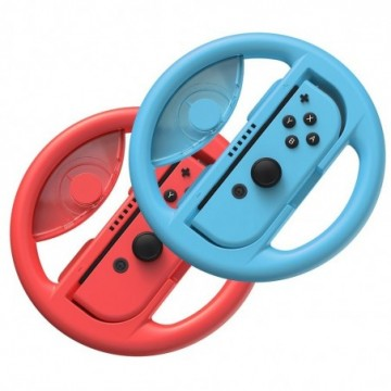 Baseus 2x set car wheel handle for Joy-Con joystick pad to Nintendo Switch red and blue (GMSWB-93)