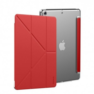Baseus Jane Smart Cover stand case for iPad 10,2'' 2019 red (LTAPIPD-G09)