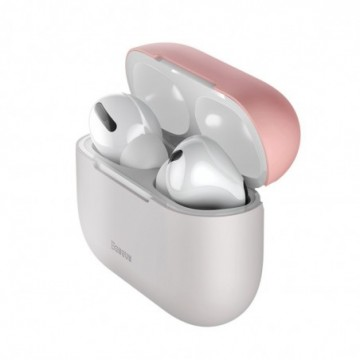 Baseus Silica Case Protector for Apple Airpods Pro rose and gray (WIAPPOD-BBZ4G)