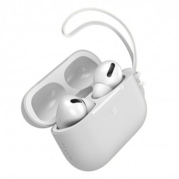 Baseus Let''s go AirPods Pro Case Silica Protector for Airpods Pro white (WIAPPOD-D02)