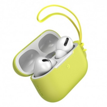 Baseus Let''s go AirPods Pro Case Silica Protector for Airpods Pro yellow (WIAPPOD-D0Y)