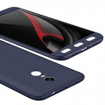 GKK 360 Protection full body case Xiaomi Redmi Note 4 (MediaTek) blue