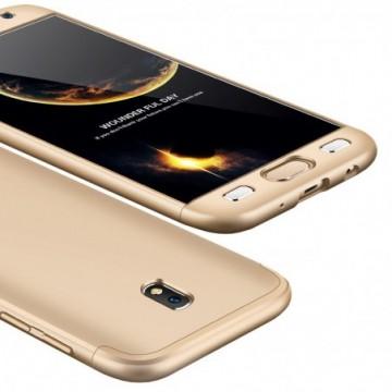 GKK 360 Protection full body case Samsung Galaxy J7 2017 J730 golden
