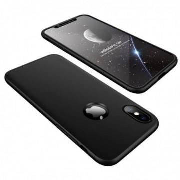GKK 360 Protection Case Full Cover iPhone XS / X black