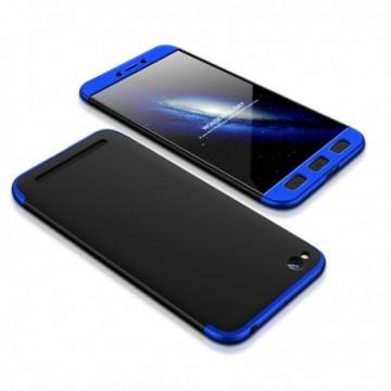 GKK 360 Protection Case Full Cover Xiaomi Redmi 5A black-blue