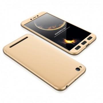 GKK 360 Protection Case Full Cover Xiaomi Redmi 5A golden