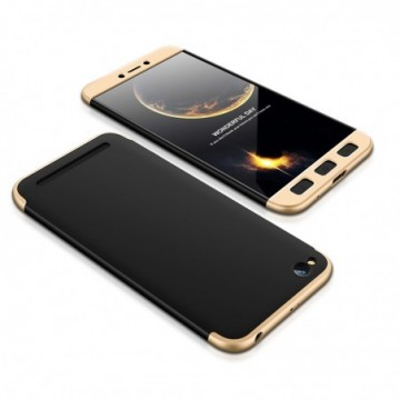 GKK 360 Protection Case Full Cover Xiaomi Redmi 5A black-gold
