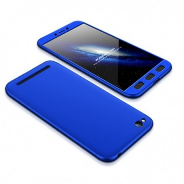 GKK 360 Protection Case Full Cover Xiaomi Redmi 5A blue