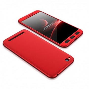 GKK 360 Protection Case Full Cover Xiaomi Redmi 5A red