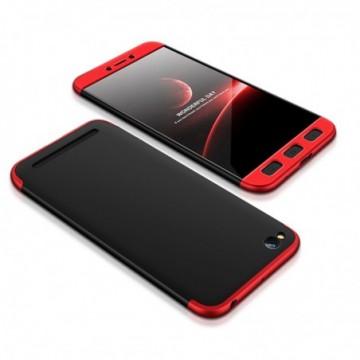 GKK 360 Protection Case Full Cover Xiaomi Redmi 5A black-red