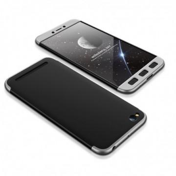 GKK 360 Protection Case Full Cover Xiaomi Redmi 5A black-silver