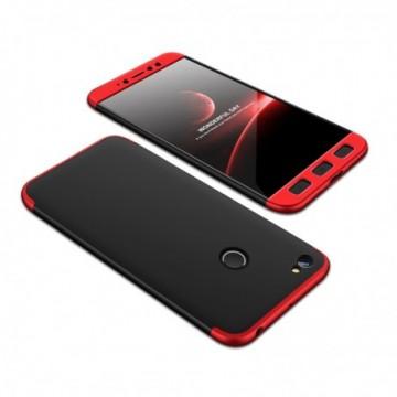 GKK 360 Protection Case Full Cover Xiaomi Redmi Note 5A Prime black-red