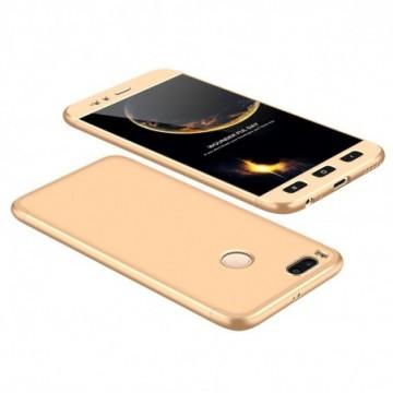 GKK 360 Protection Case Full Cover Xiaomi Mi A1 / Mi 5X golden